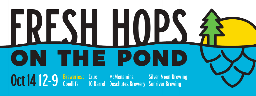 Bend Brewing Company Fresh Hops on the Pond