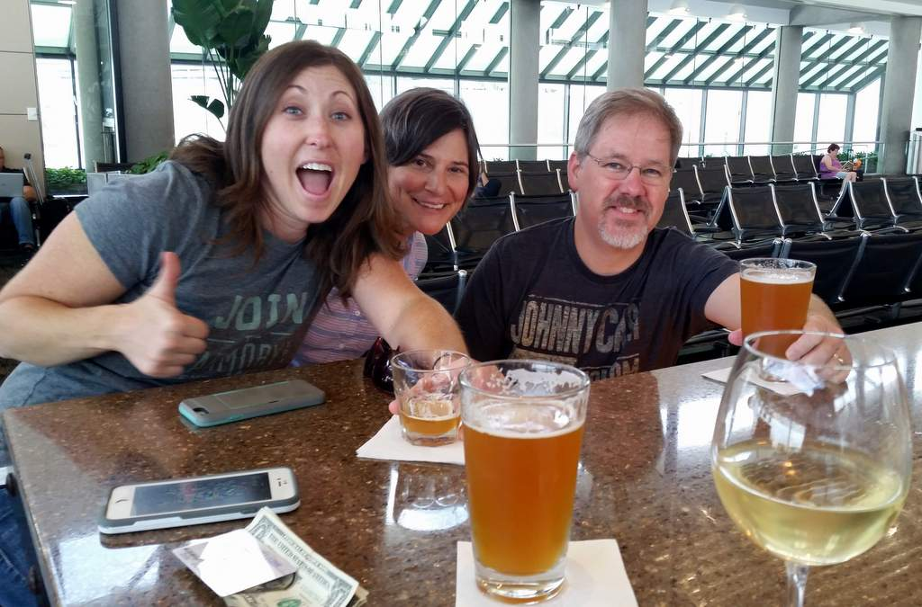 BBC 16: Airport drinks with Deschutes and Devils Backbone