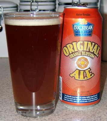 Buckbean Original Orange Blossom Ale