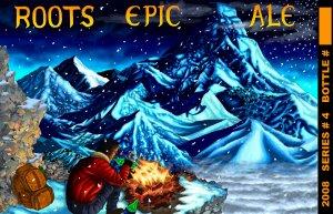 Roots Epic Ale label