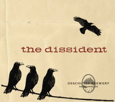 Deschutes' The Dissident label