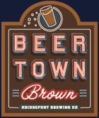 Beertown Brown logo/label