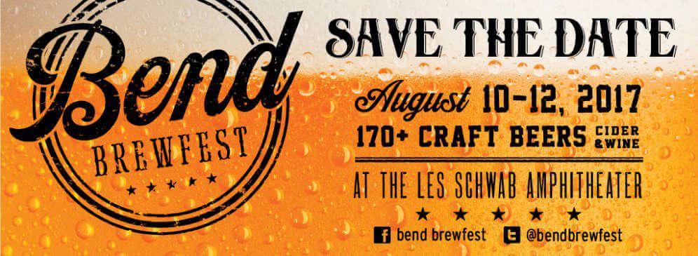 Bend Brewfest 2017 announced