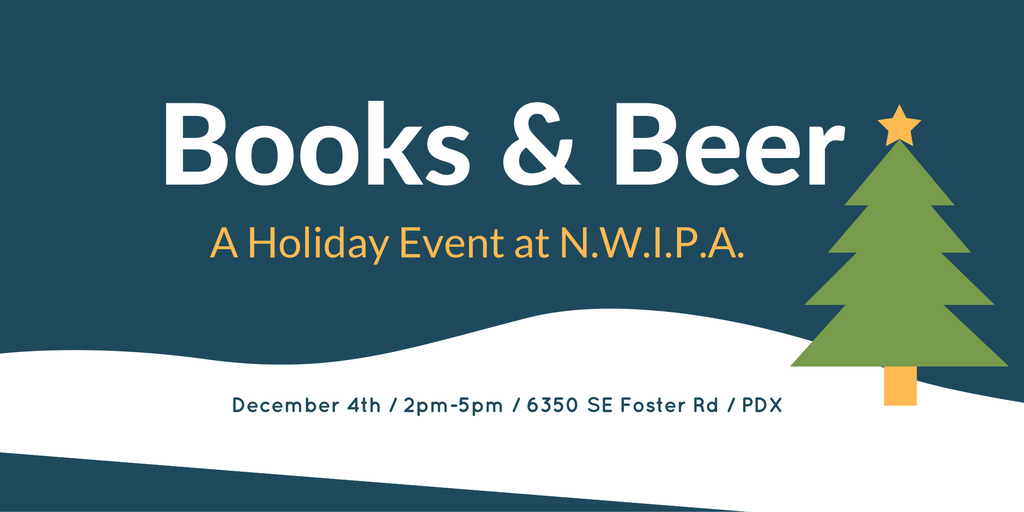 Books & Beer Holiday Event at NWIPA