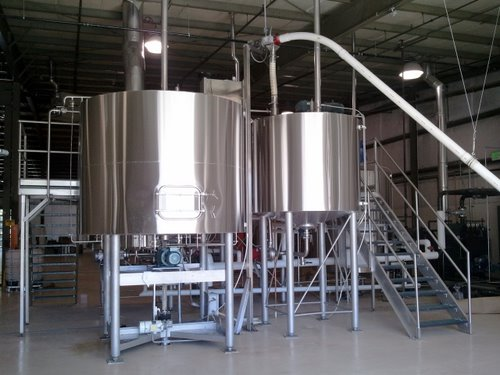 GoodLife Brewing's tanks