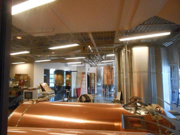 Tenaya Creek brewhouse