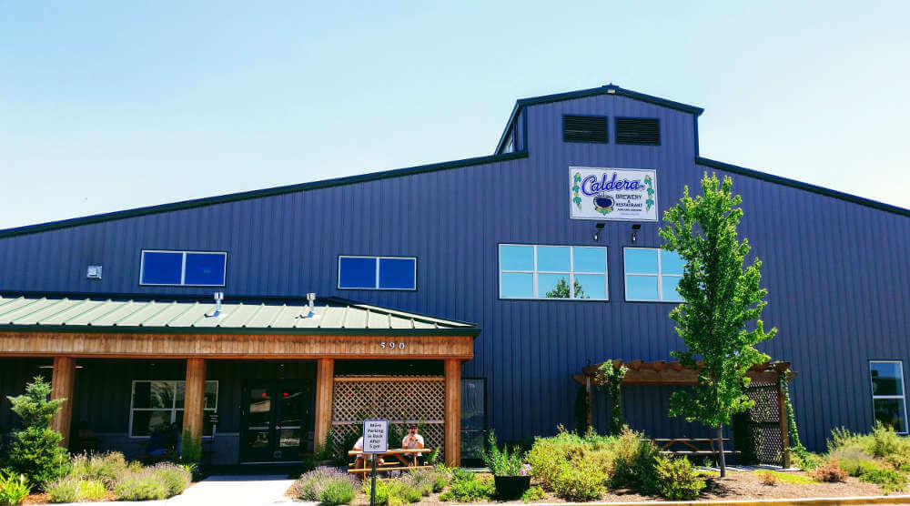 Caldera Brewing production brewery and restaurant