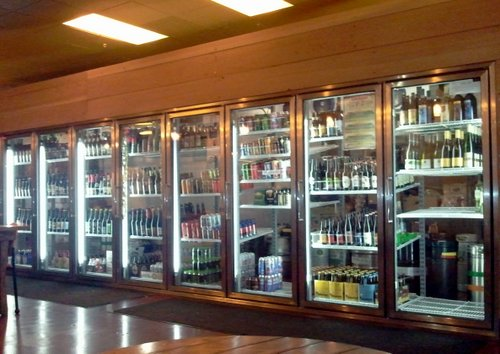 Broken Top Bottle Shop coolers