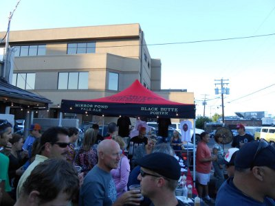 Deschutes Brewery back alley BBQ