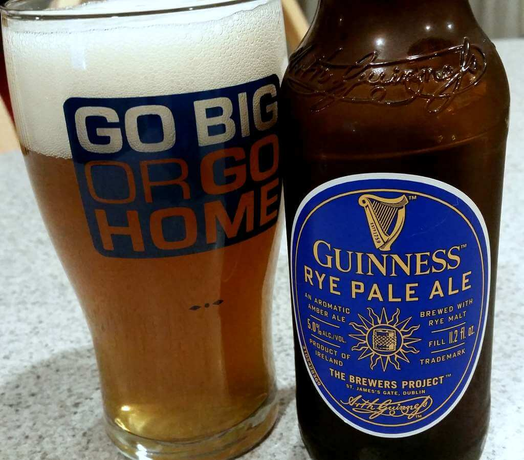 Review: Guinness Rye Pale Ale
