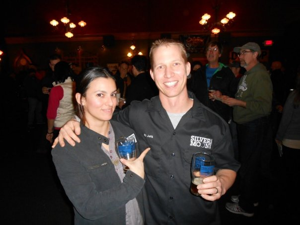 Veronica Vega and Jeff Schauland