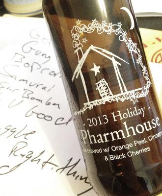 Dunedin Holiday Pharmhouse Ale