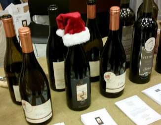 Holiday Wine Festival Santa hat