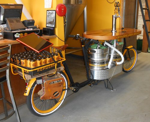 Hopworks Beer Bike