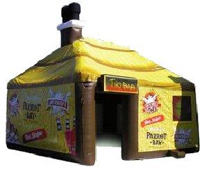 Inflatable pub - tiki style