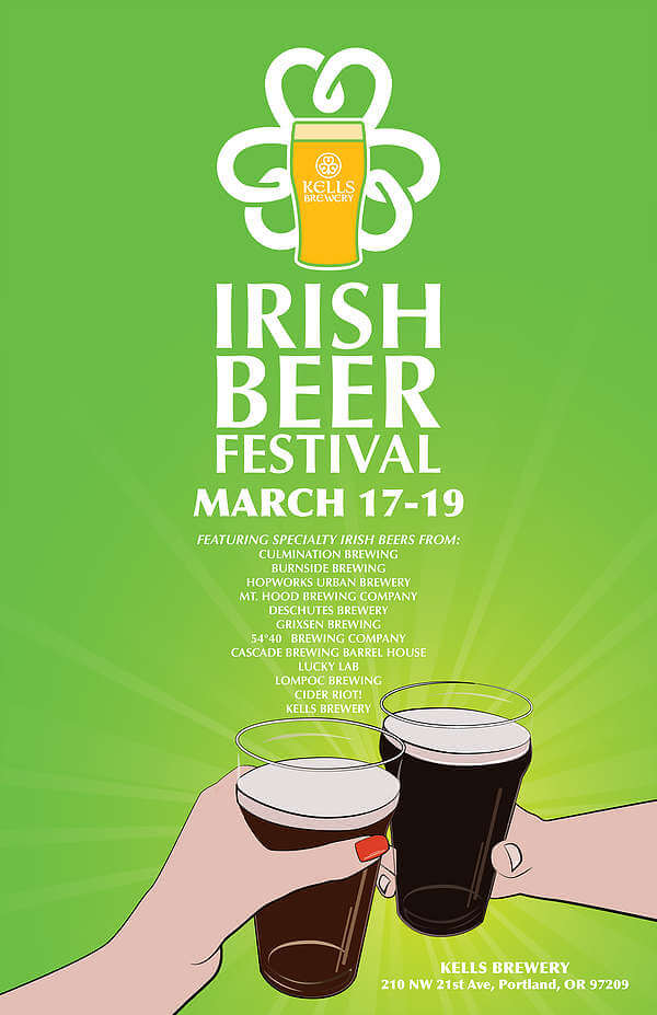 Irish Beer Festival poster