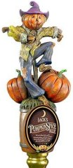 Jack's Pumpkin Spice Ale tap handle