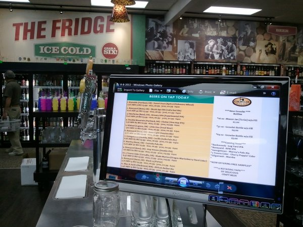 Lincoln City growler fills menu
