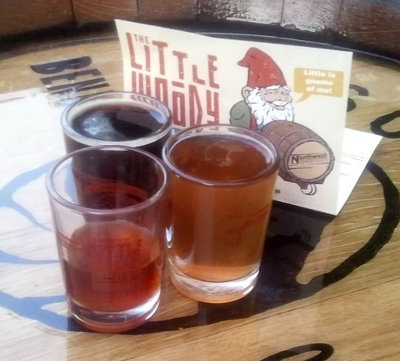The Little Woody beers