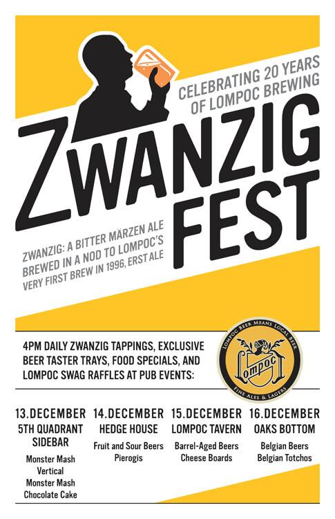 Lompoc Zwanzig Fest poster