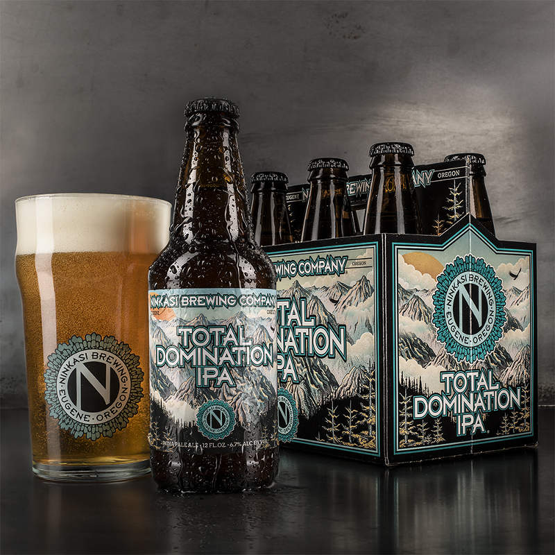 New Ninkasi Branding: Total Domination IPA