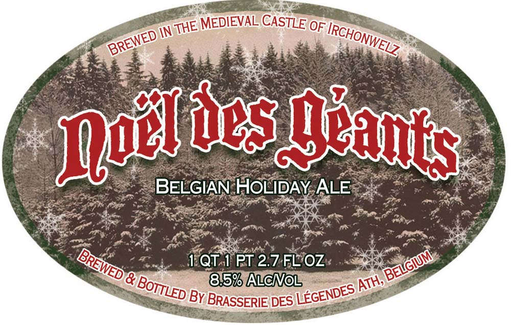 Noël des Géants label
