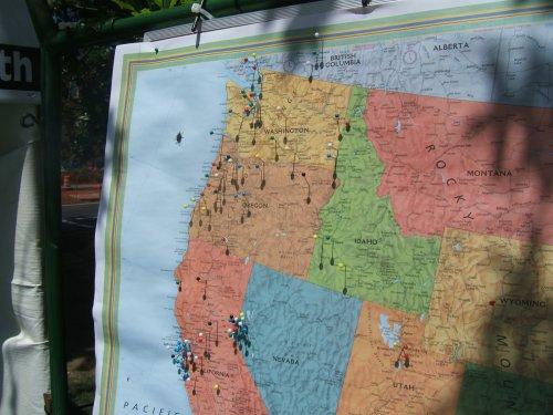 OBF2006: Oregon map
