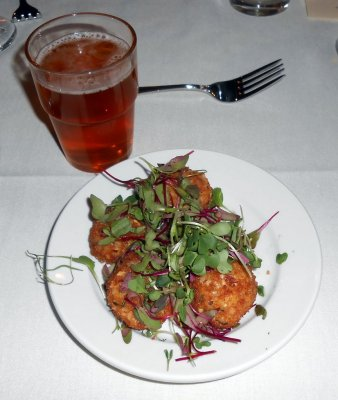 OGBF Brewer's Tasting Dinner 1st course