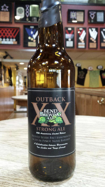 Bend Brewing Outback XX bottle