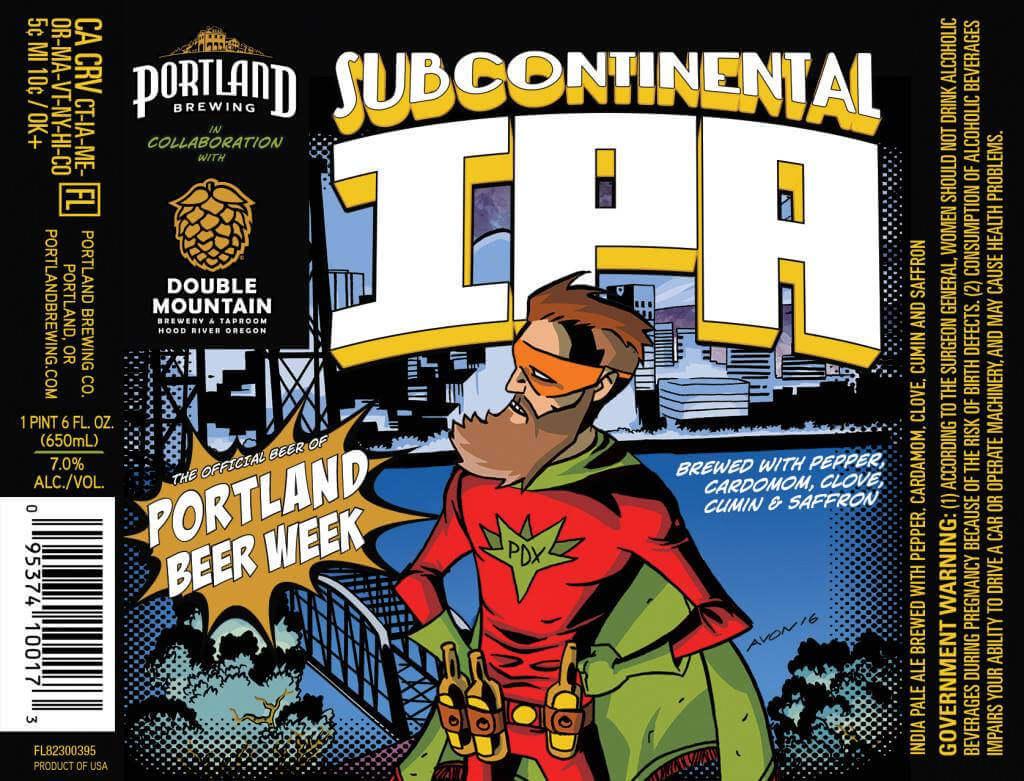 Portland Beer Week Subcontinental IPA