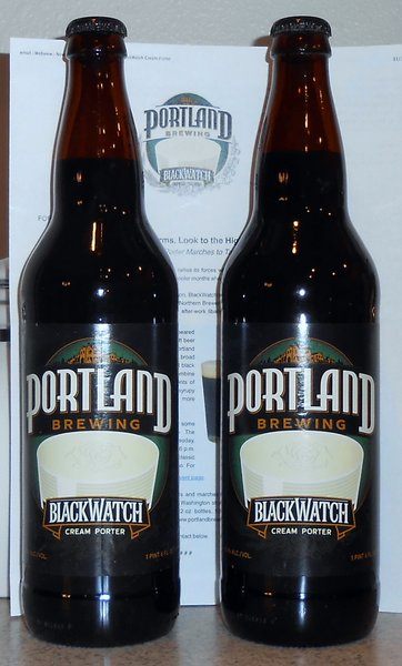 Portland Brewing BlackWatch Cream Porter