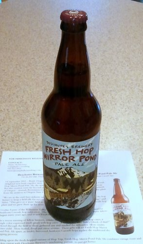 Deschutes Brewery Fresh Hop Mirror Pond Pale Ale