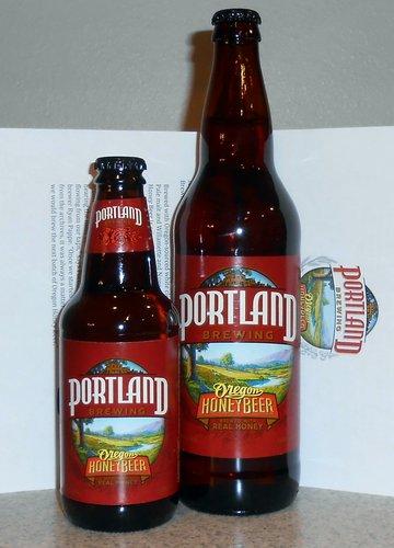 Portland Brewing Oregon Honey Beer