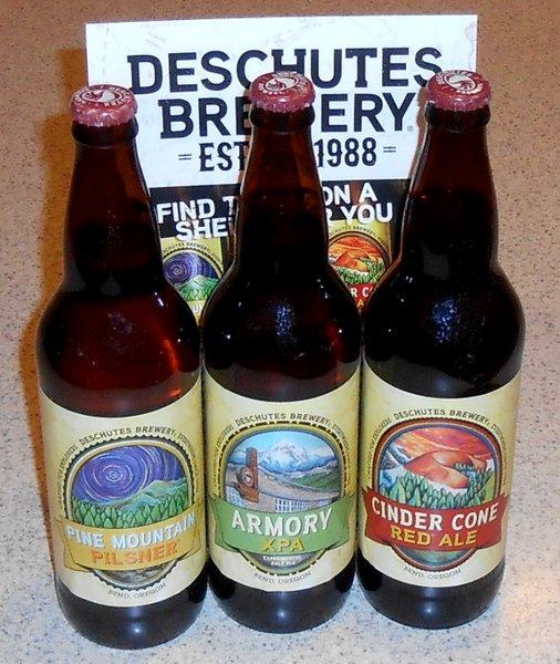 Deschutes Brewery bombers