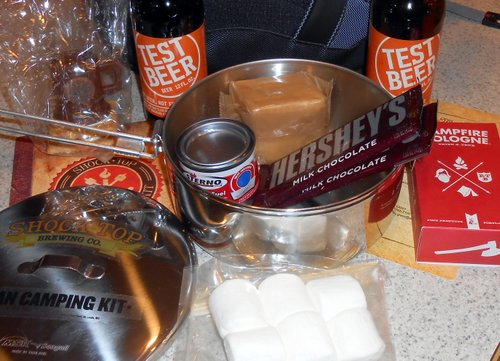 Shock Top Urban Camping Kit s'mores detail