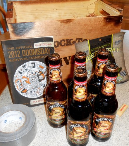 received the end of the world from shock top the brew site