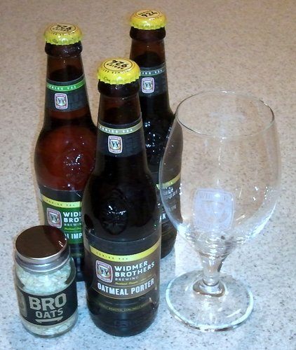 Widmer 3-pack: Oatmeal Porter, Pitch Black IPA, Nelson Imperial IPA