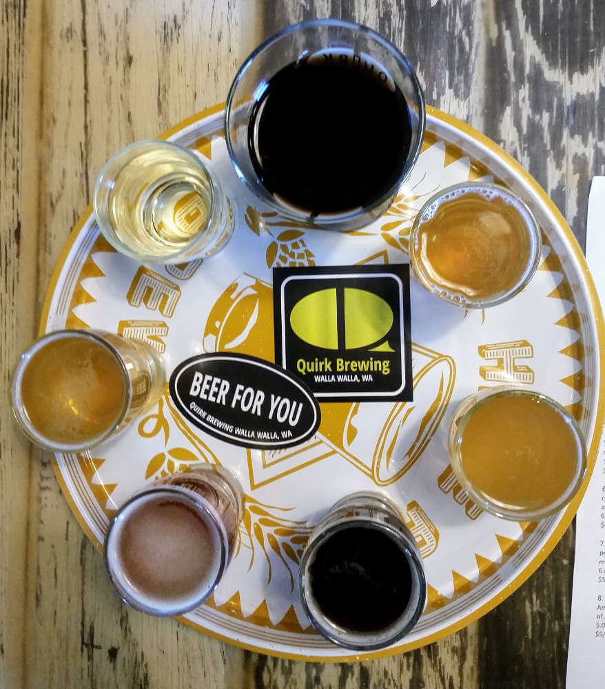 Quirk Brewing, Walla Walla, Washington