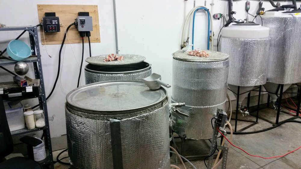 Quirk Brewing DIY brewery
