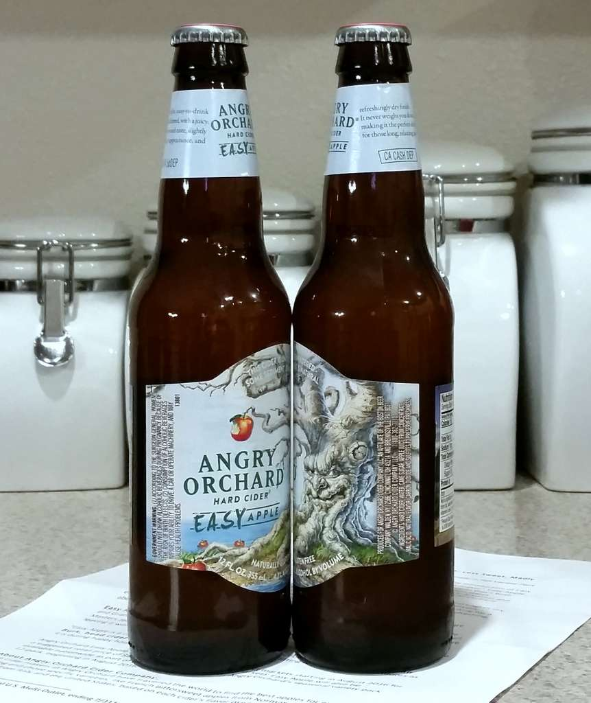 Received: Angry Orchard Easy Apple Cider