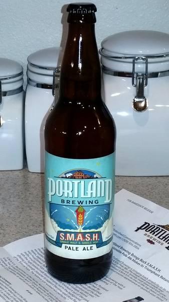 Received Portland Brewing SMASH