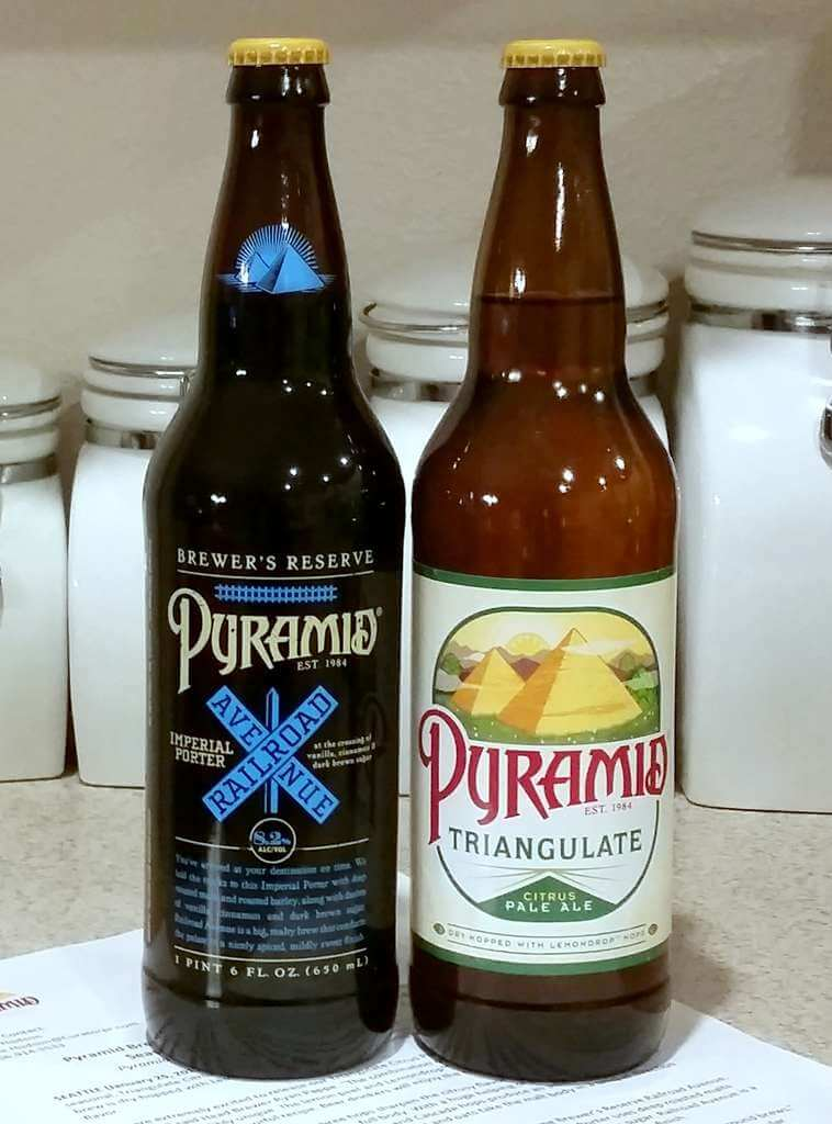 Received: Pyramid Brewing seasonals