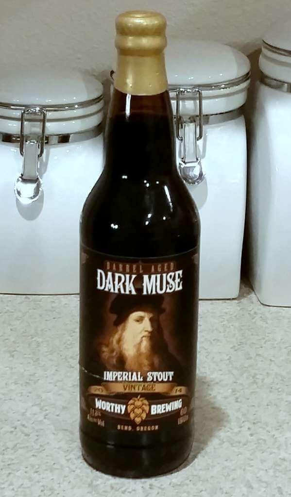 Received: Worthy Brewing Barrel Aged Dark Muse 2014