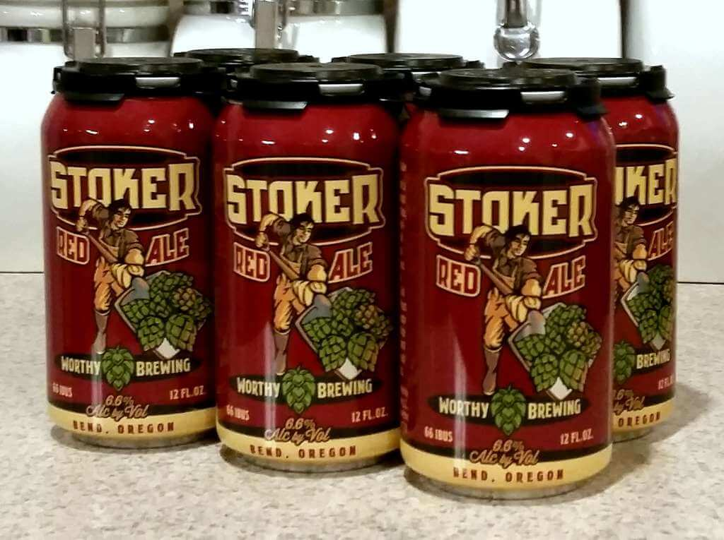 Received: Worthy Brewing Stoker Red Ale