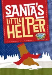 Santa's Little Helper label from Cascade Lakes Brewing