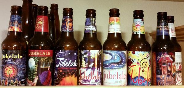 Jubelale bottles