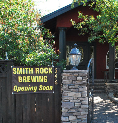 Smith Rock Brewing opening soon