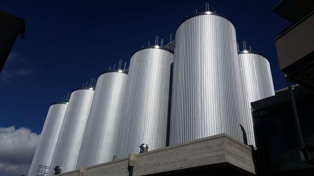 Deschutes Brewery tanks