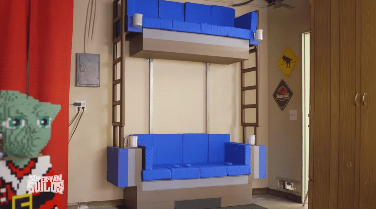 Real Life LEGO Double Decker Couch For Super Fans