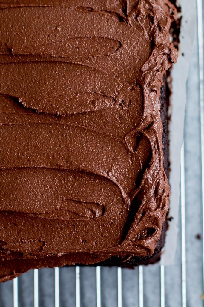 Chocolate Tahini Cake - The Brick Kitchen